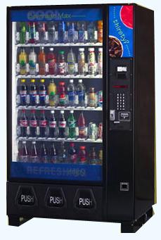 Automated chocolate vending machine